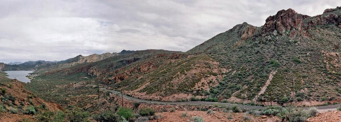Map Of Highway 87 Arizona.Apache Trail Arizona Az 88