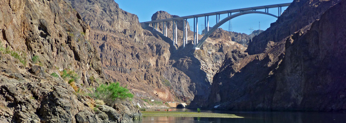 Lake Mead National Recreation Area and the Hoover Dam