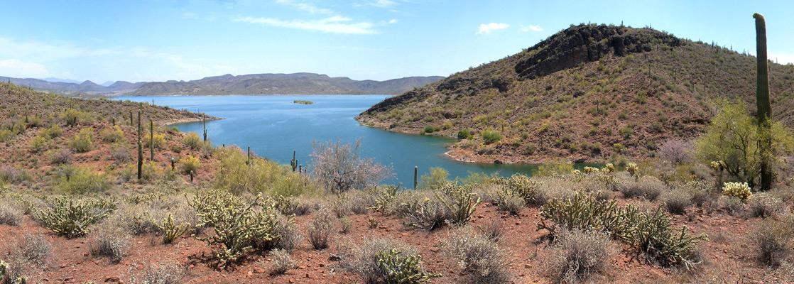 Lake Pleasant, near Phoenix, Arizona