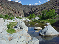 Badger Springs Canyon and the Agua Fria River