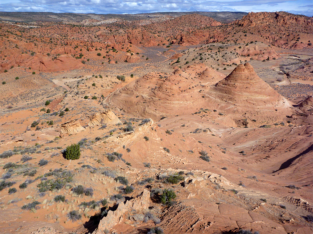 Mounds beside Buckskin Gulch