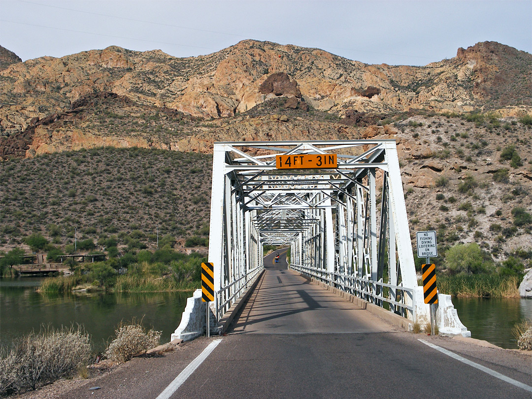 Bridge on the Apache Trail
