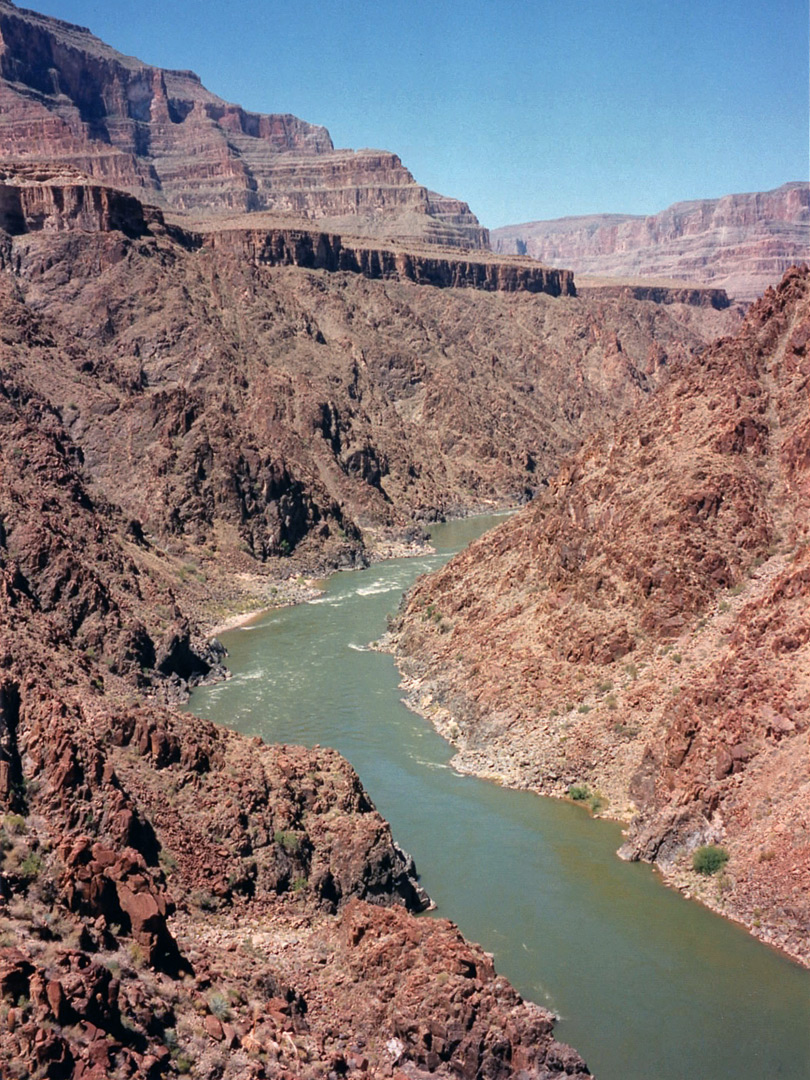 The Colorado River, west of Diamond Creek