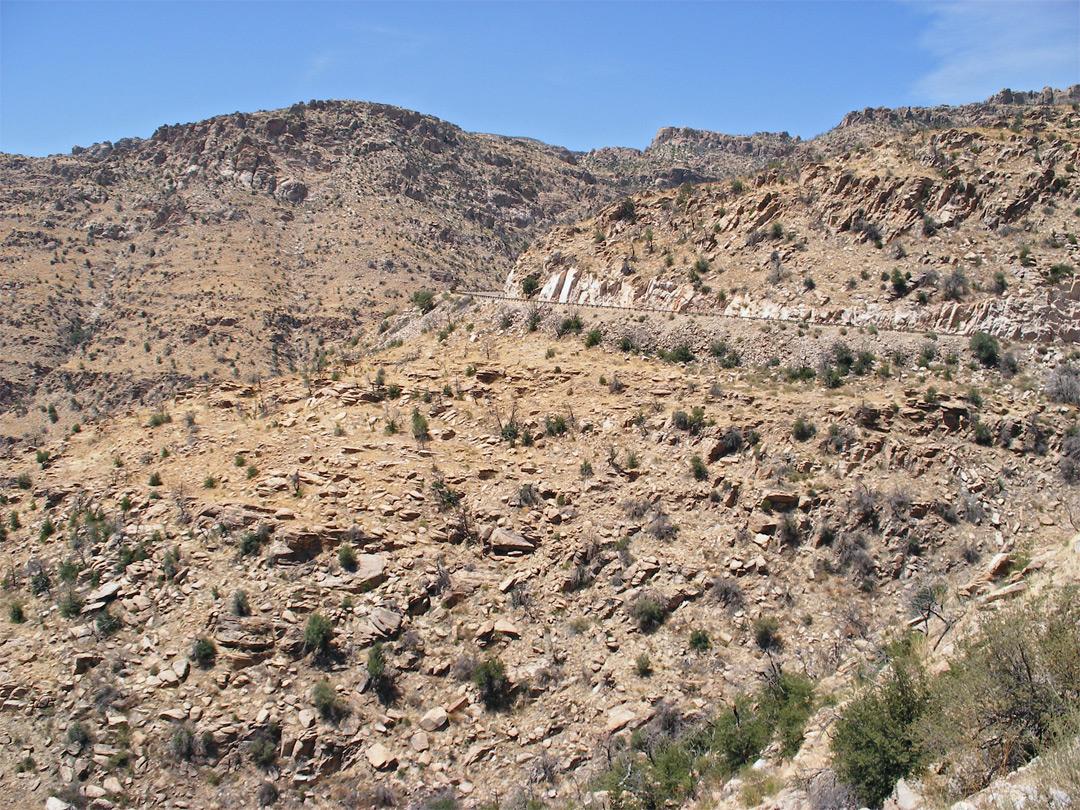Rocky Hillside Mount Lemmon Arizona