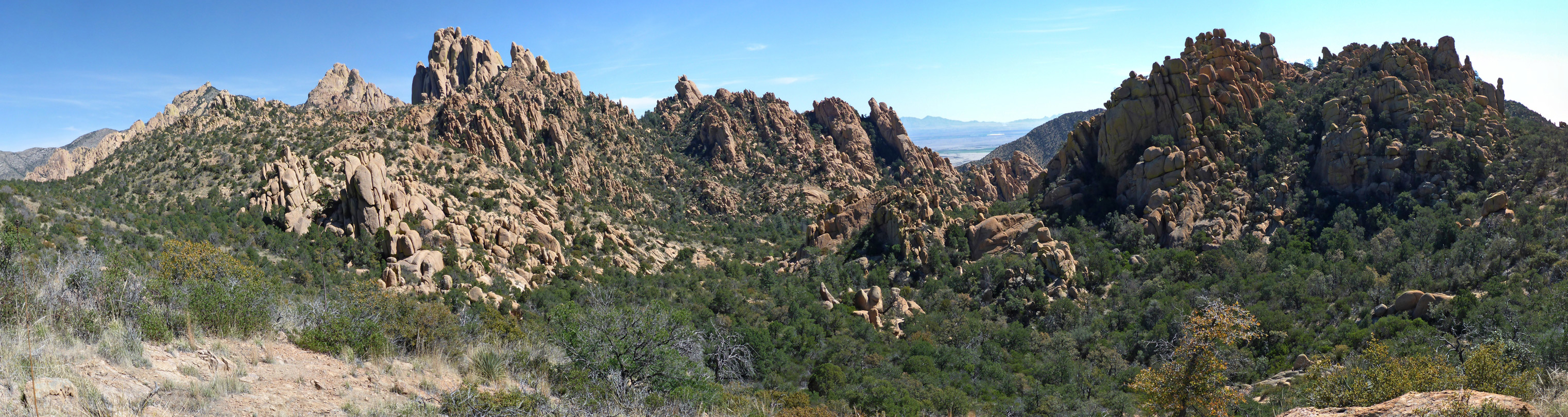 Panorama of Cochise Stronghold
