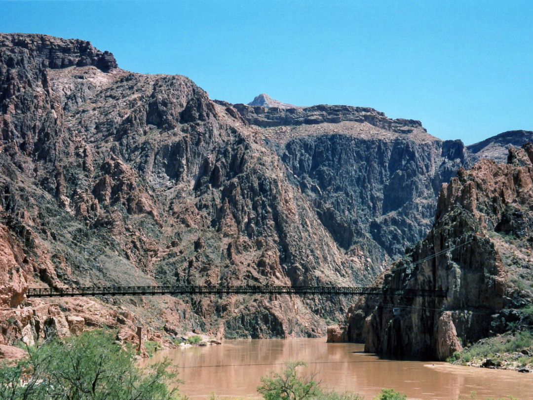 South Kaibab Trail bridge