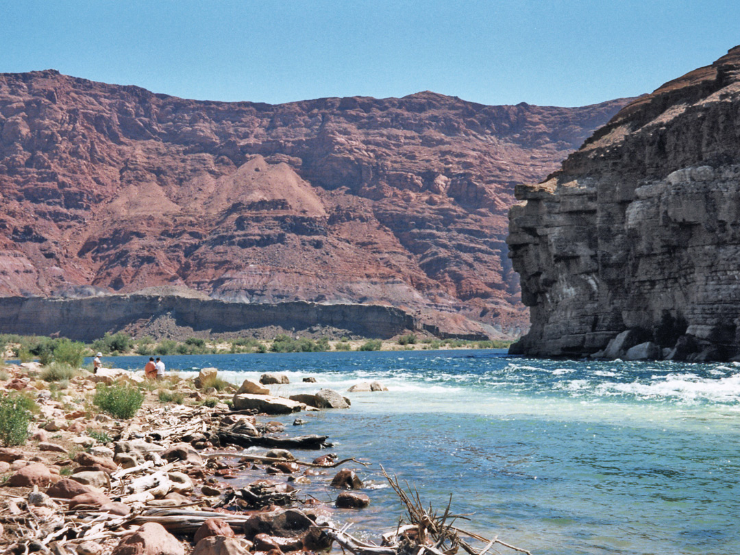 The Colorado River at Lees Ferry
