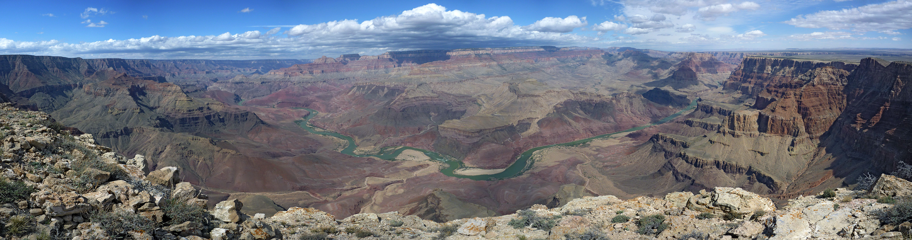 Comanche Point panorama: Comanche Point Trail, Grand Canyon National ...