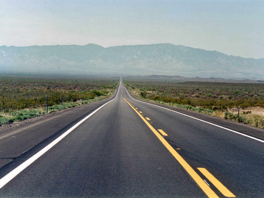 US 191 south of Safford