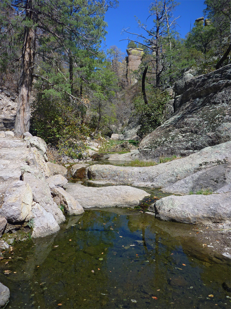 Pools in Echo Canyon