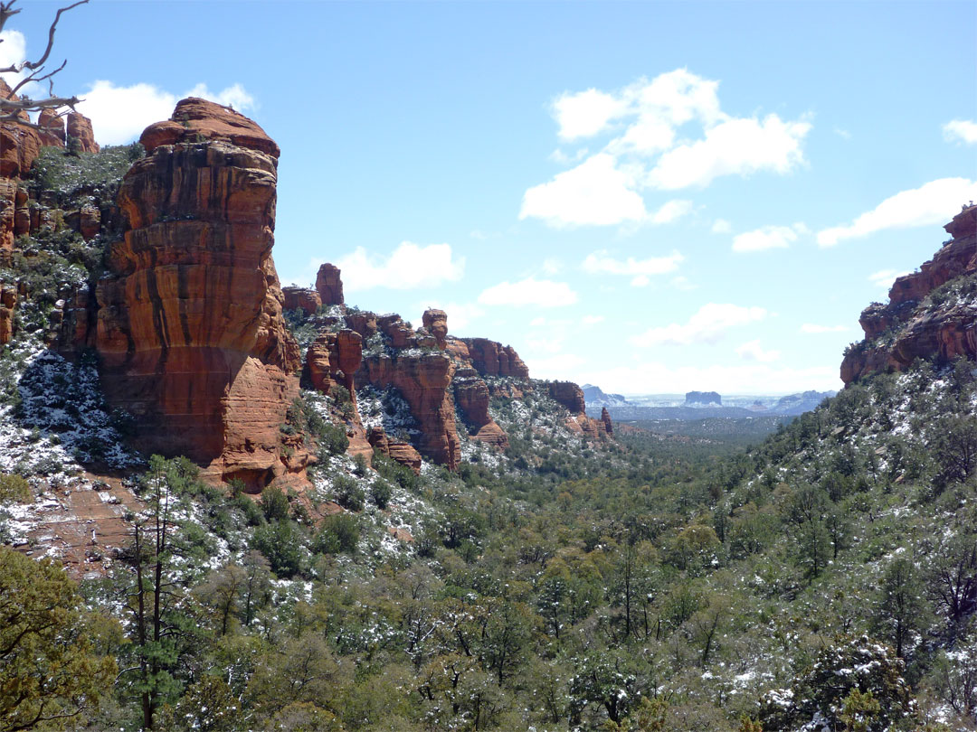 View south towards Sedona