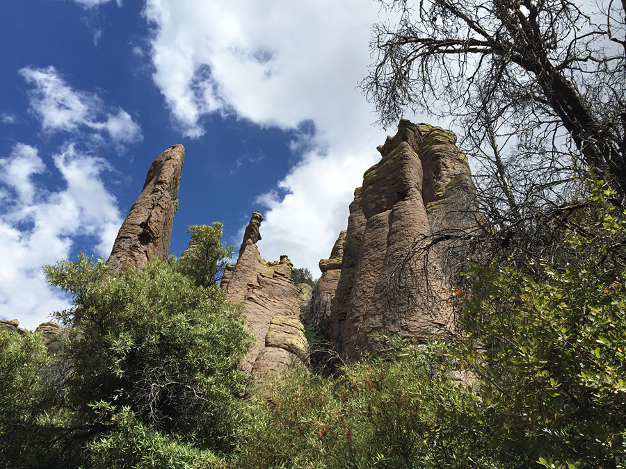 Spires along the Hailstone Trail