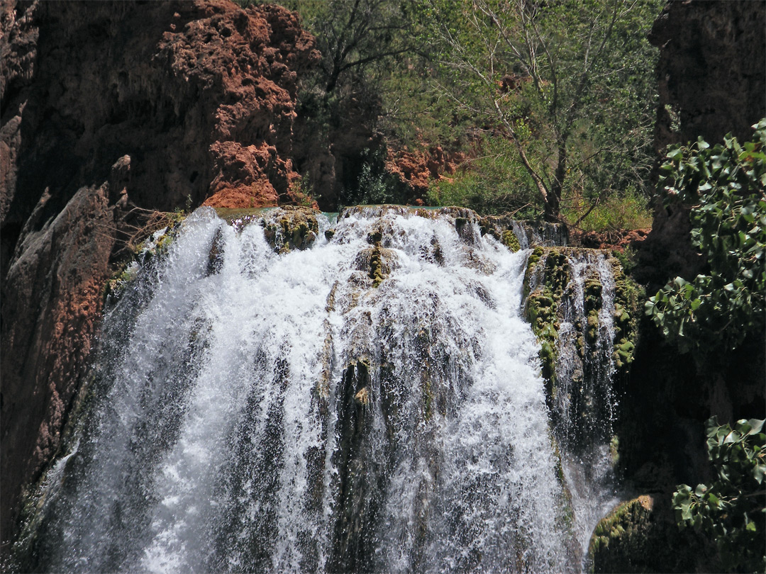 Top of Havasu Falls
