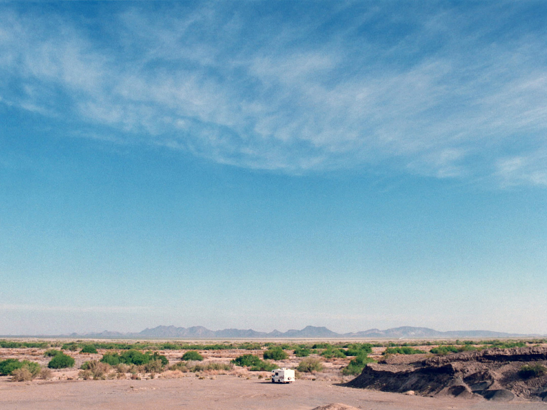 Camping south of the Kofa NWR