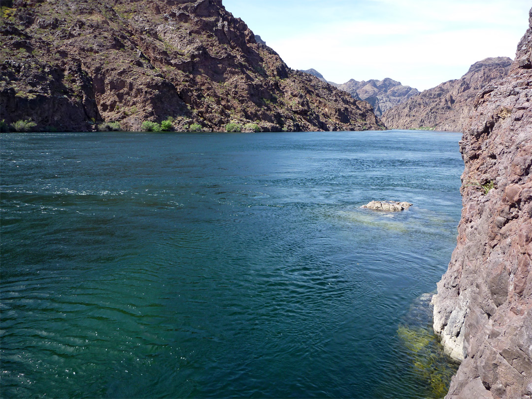 Lake Mohave - upstream