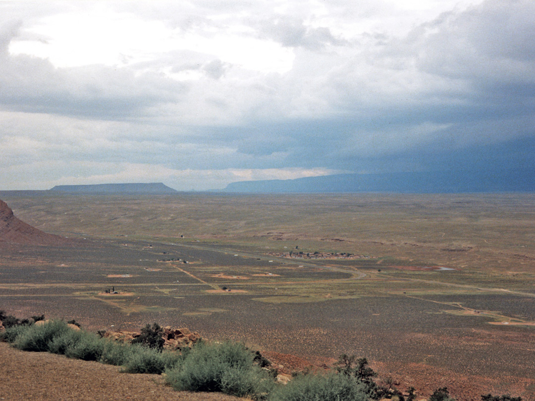 Storm above Marble Canyon