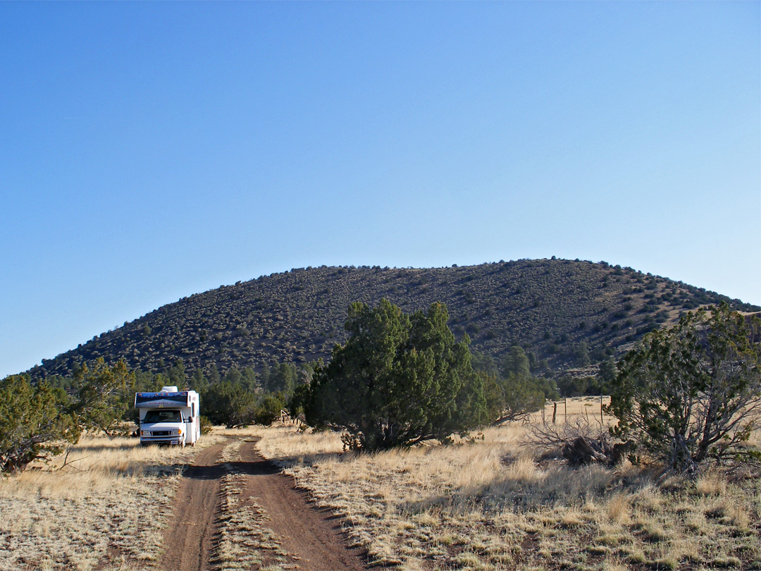 National forest camping - Leupp Road