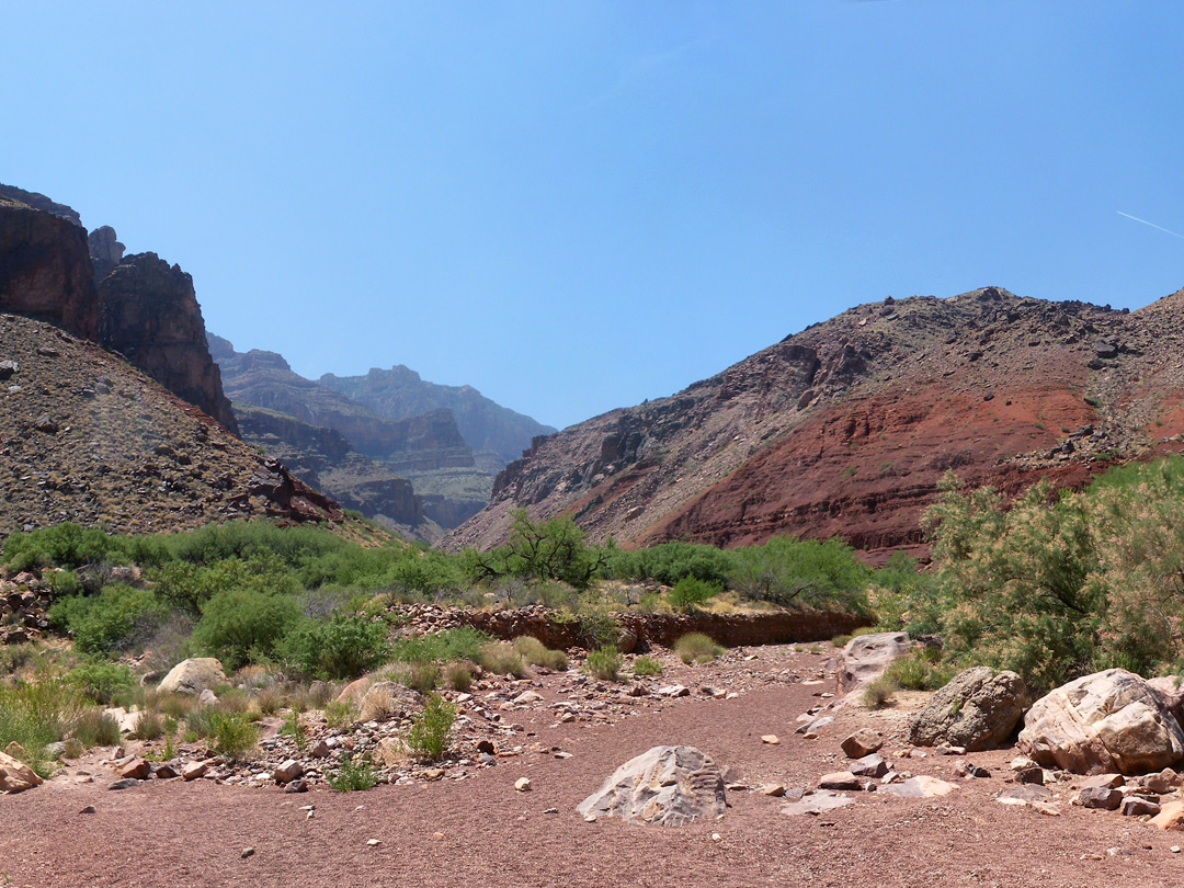 End of Red Canyon
