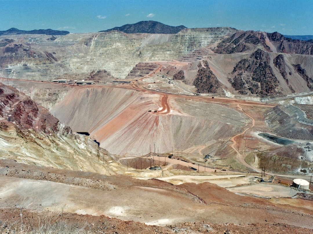 Morenci Mine - wide view