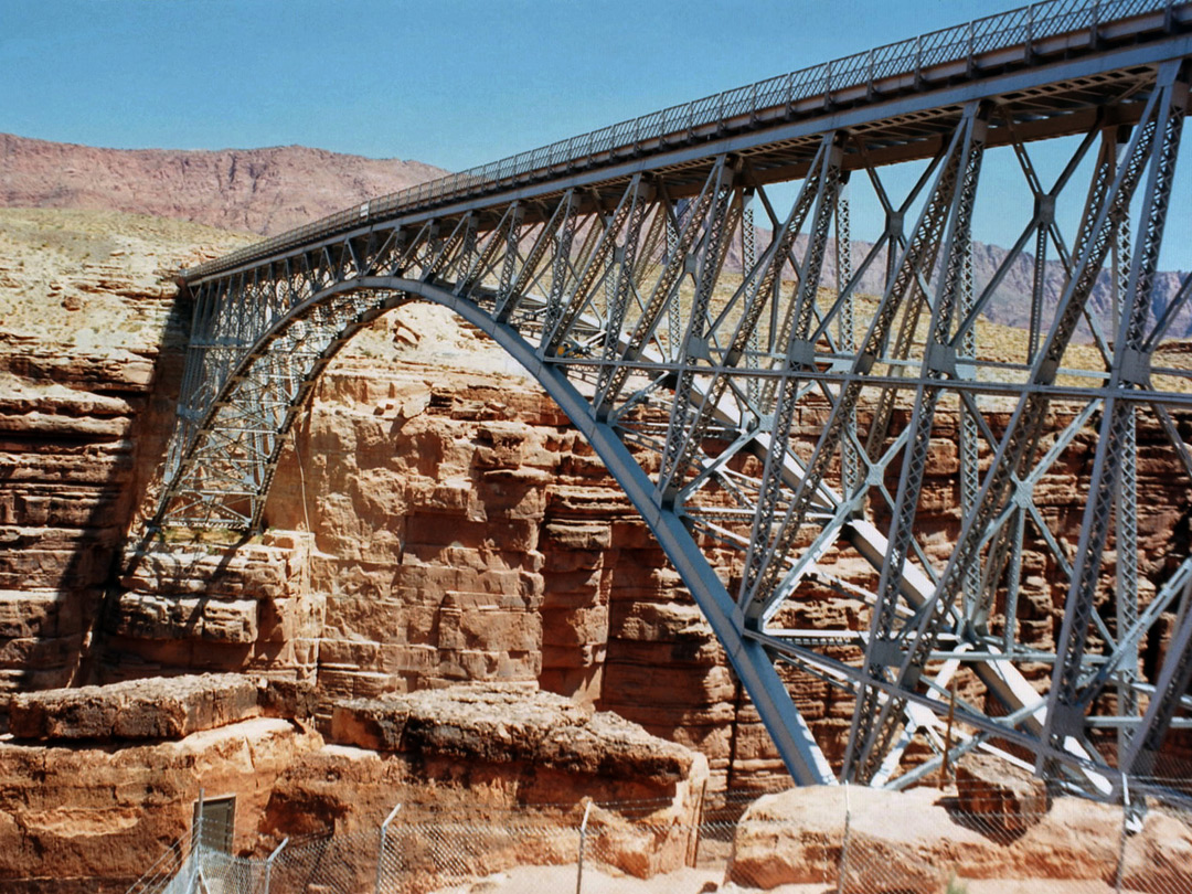 The original Navajo Bridge