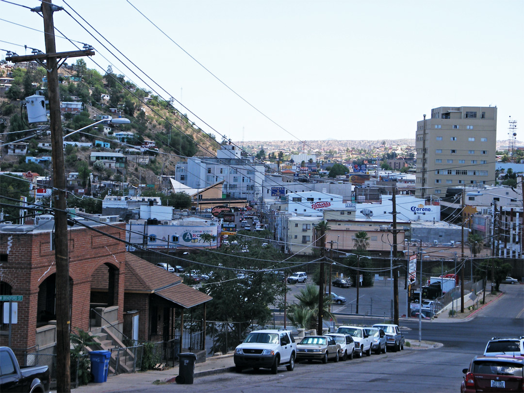 Nogales in Mexico