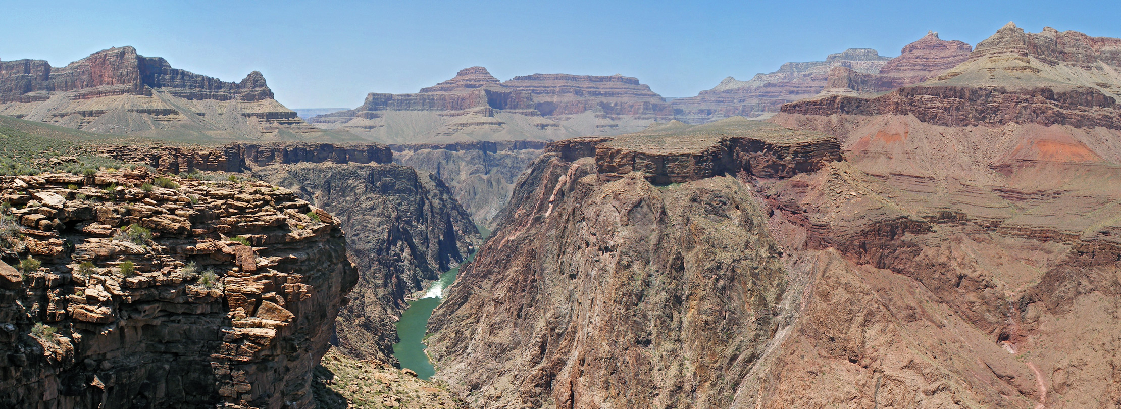 Colorado River, from Plateau Point