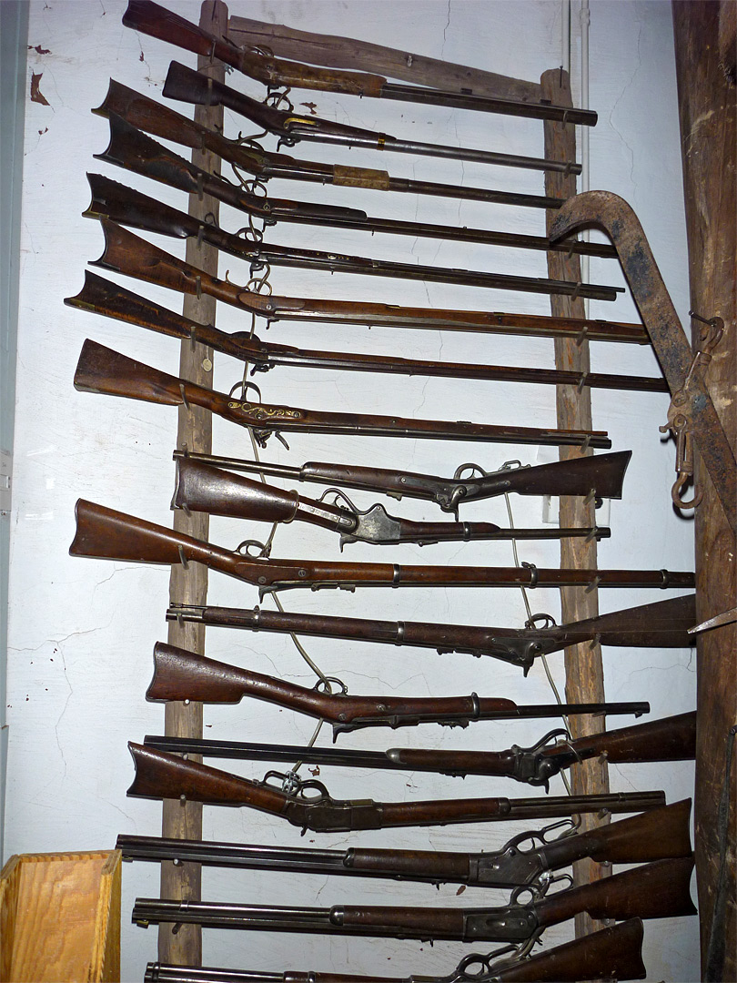 Rifle Rack Hubbell Trading Post National Historic Site