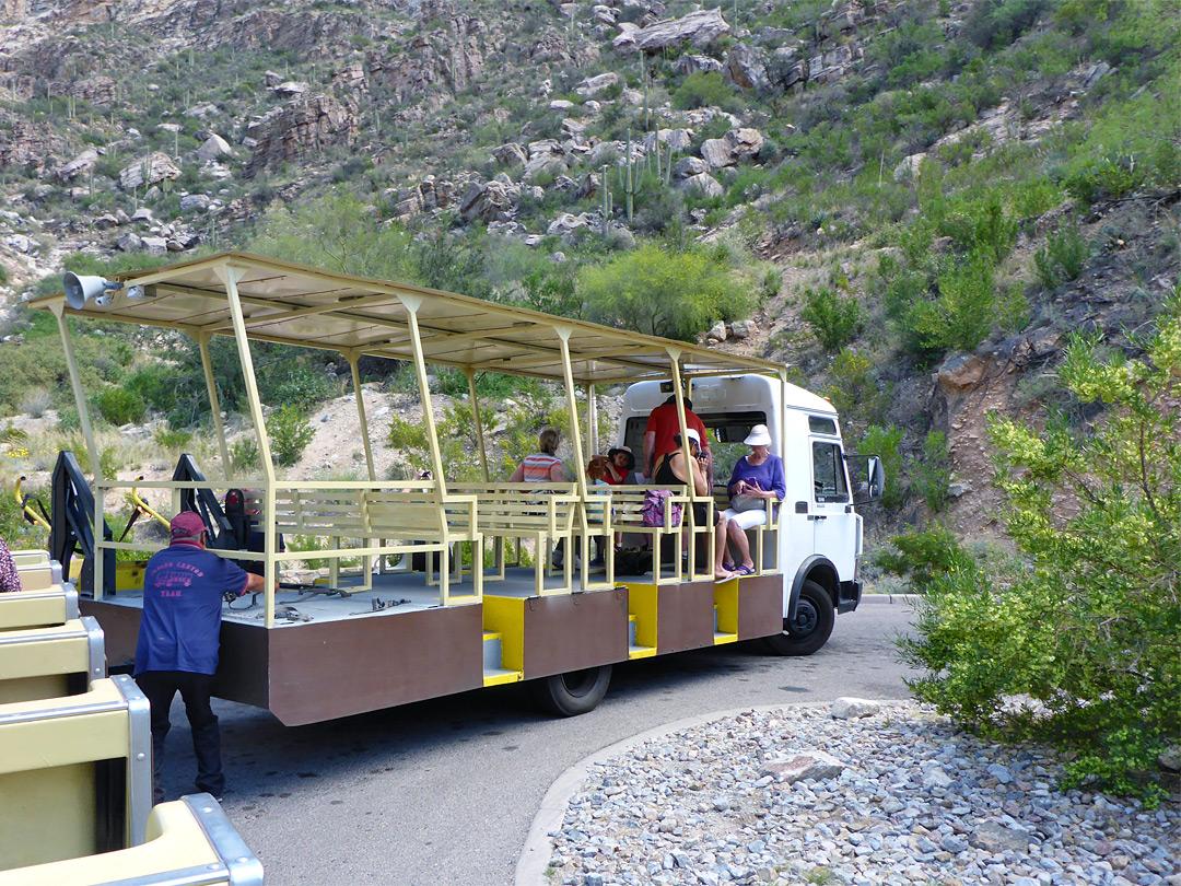 The Last Tram Stop Sabino Canyon Trail Sabino Canyon