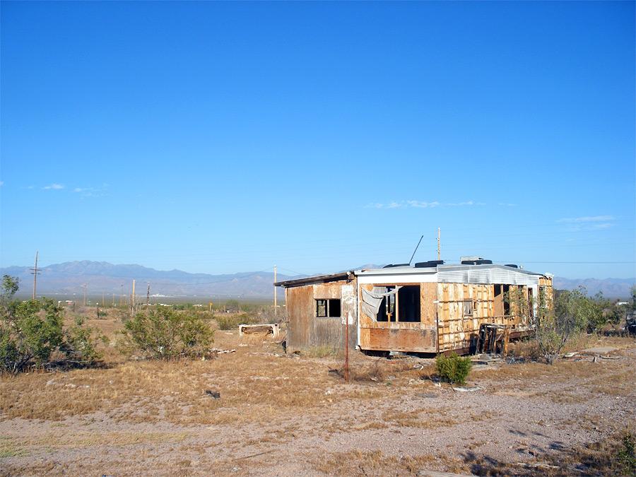 Derelict House Route 66 Topock To Kingman Arizona