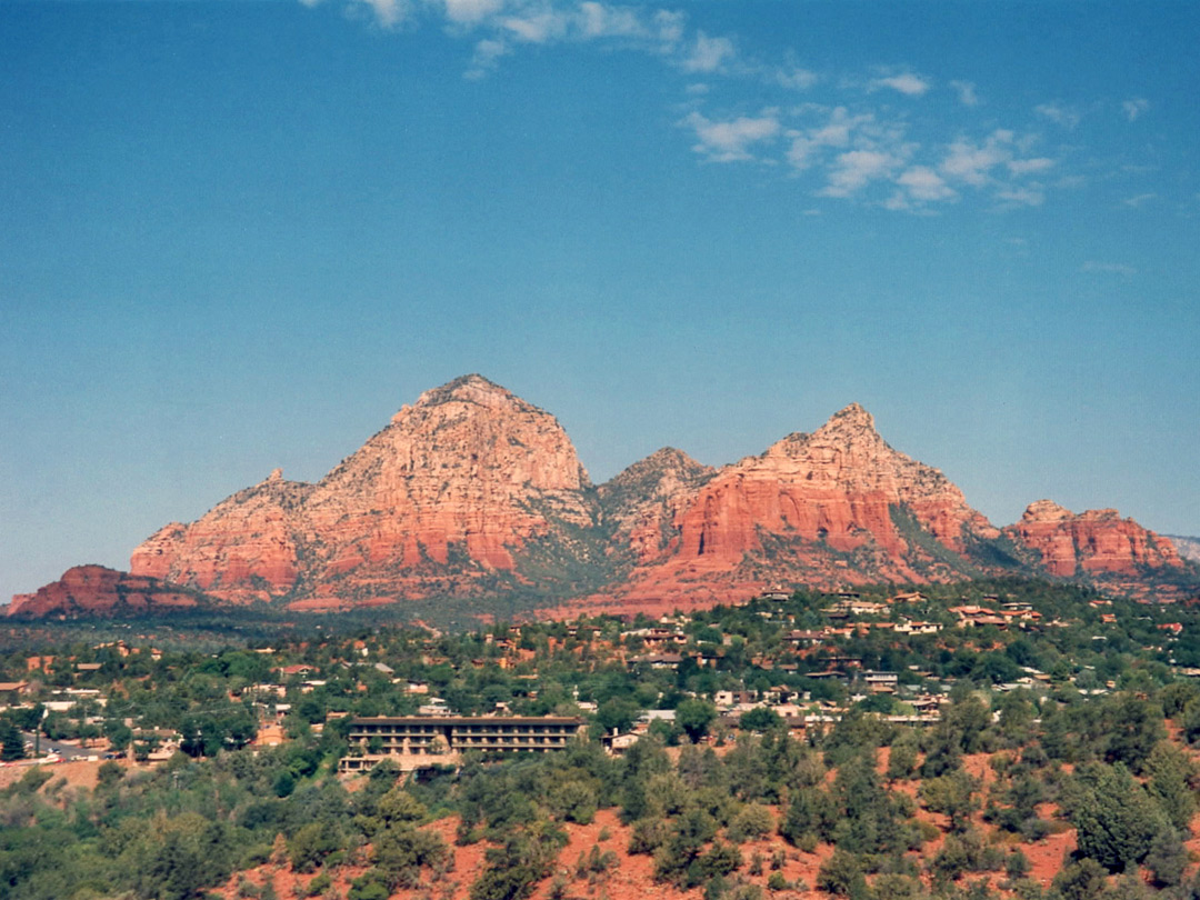 Sedona, from Schnebly Hill Road