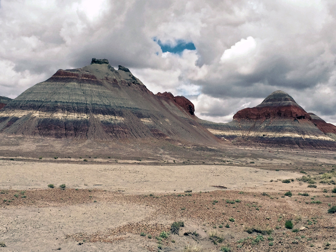 Clouds over the Tepees