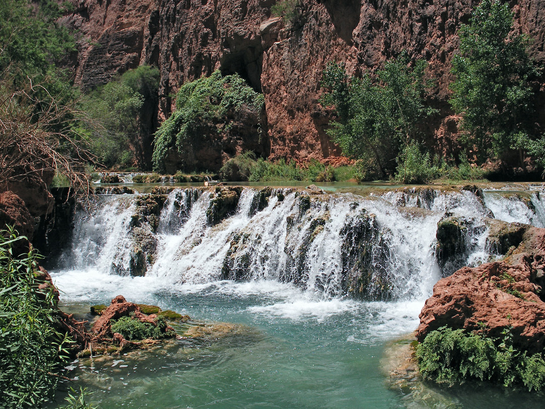 Pool and cascade