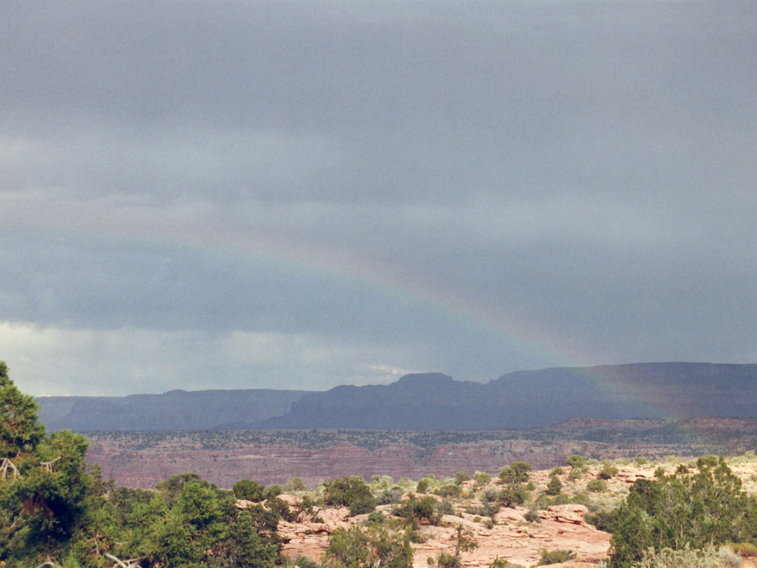 Rainbow over Tuweep