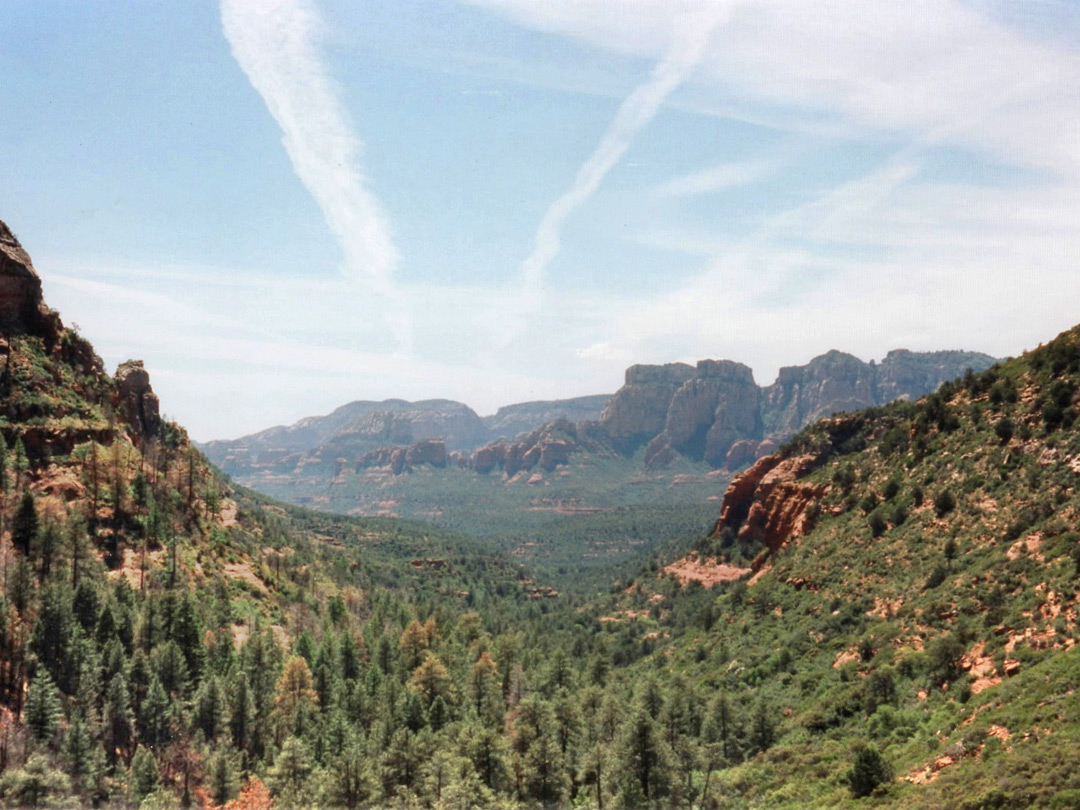 Valley west of Vultee Arch