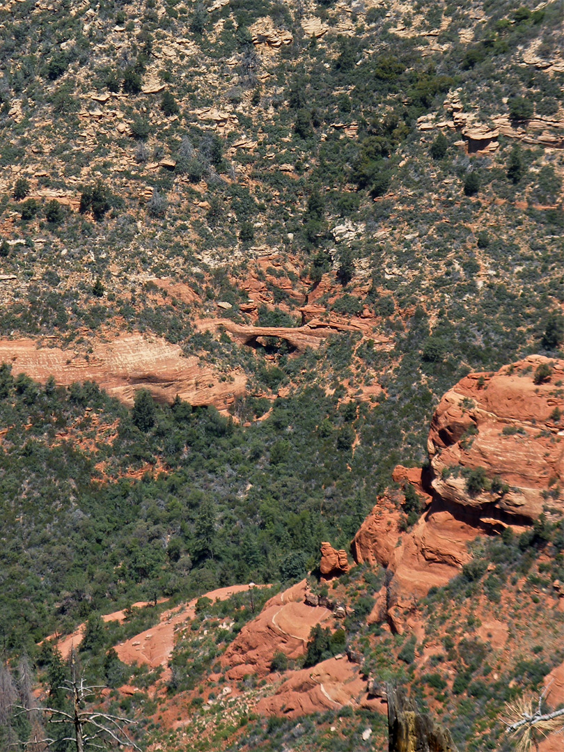 Vultee Arch, from Wilson Mountain