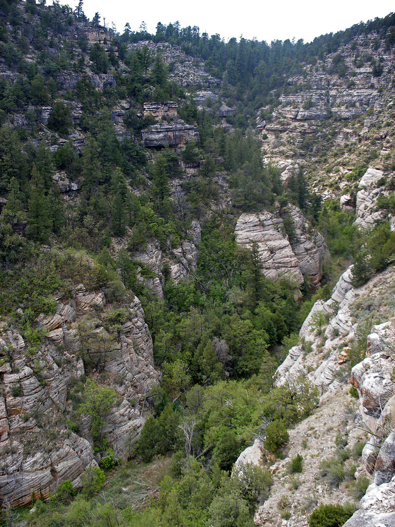 Walnut Canyon - west