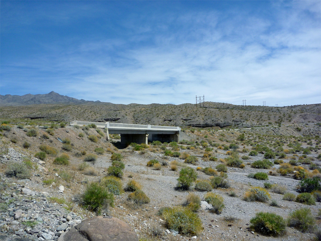 Old White Rock Canyon bridge