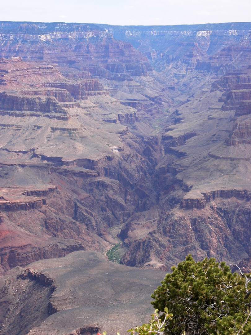 Bright Angel Canyon, from Yavapai Point