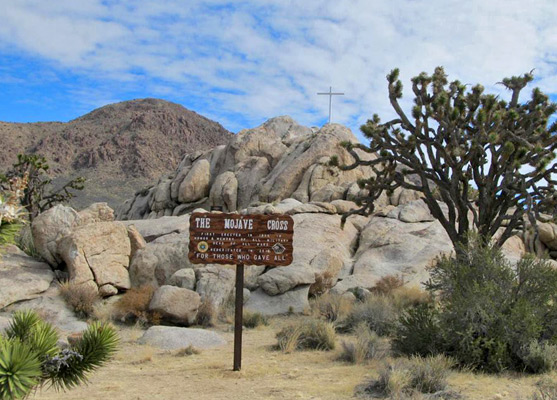 Roads And Sites In Mojave National Preserve South California