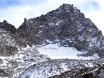 Palisade Glacier, above the Big Pine Lakes