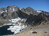 Onion Valley, Kearsarge Pass, Mt Gould and Golden Trout Lake