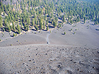 Butte Lake and Cinder Cone