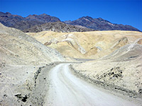 Twenty Mule Team Canyon, Death Valley