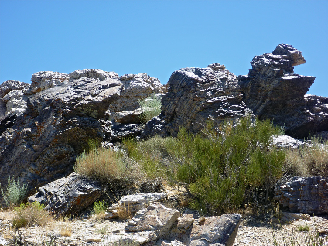 Rocks on Aguereberry Point