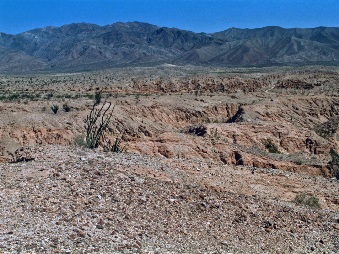 The Borrego Badlands