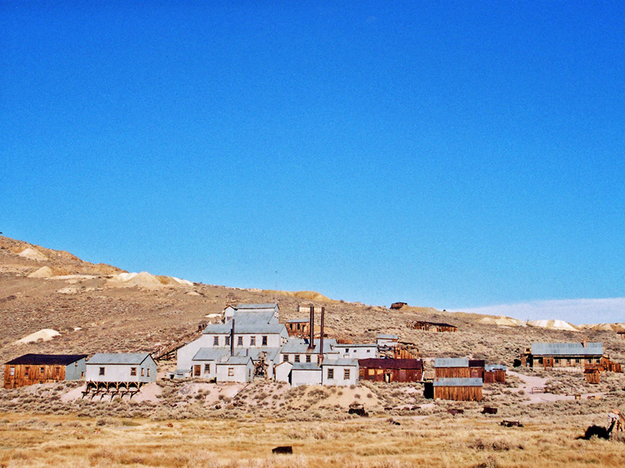 Stamp Mill and mining buildings