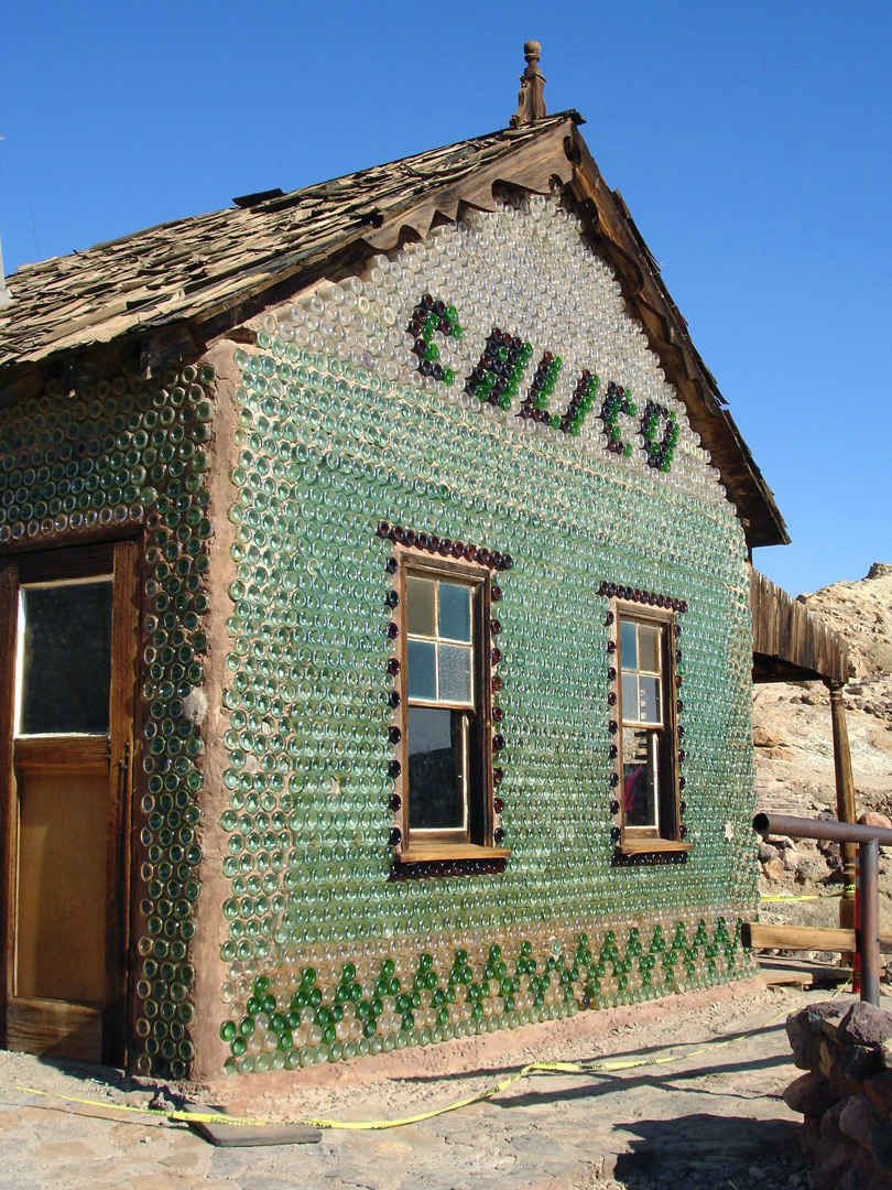 Calico Bottle House