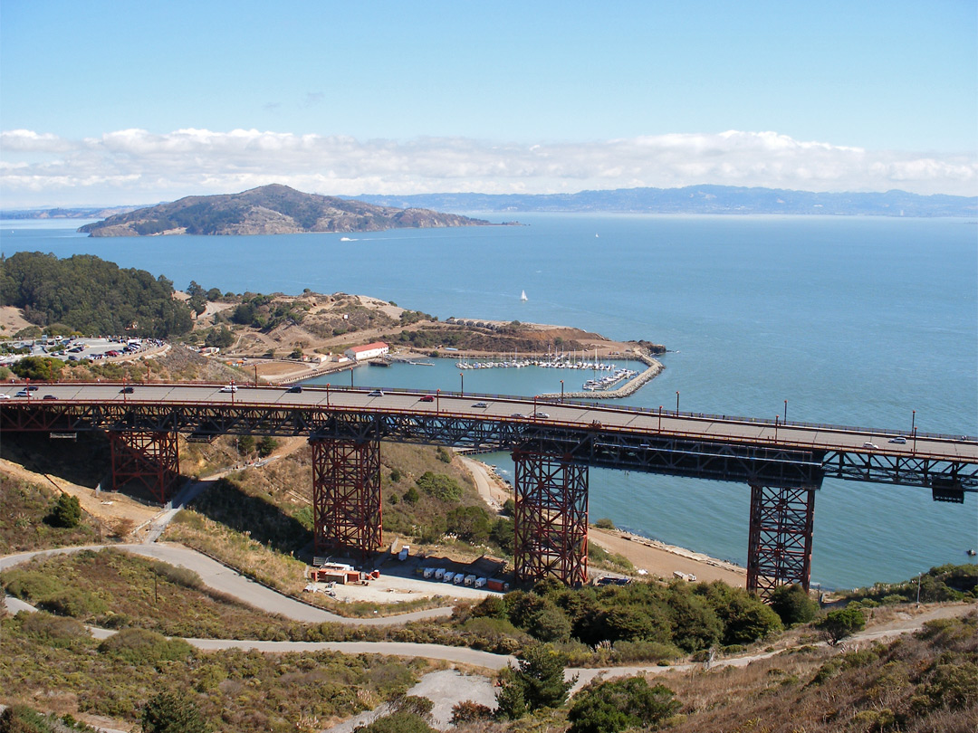 North end of the Golden Gate Bridge