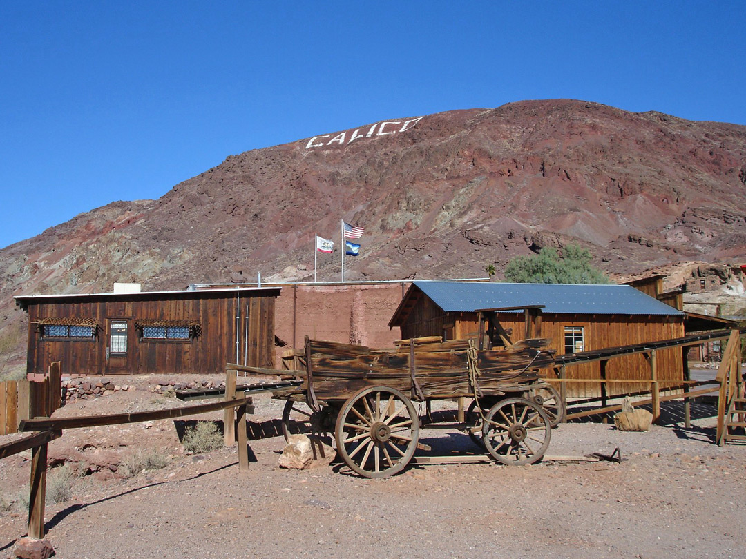 Calico Ghost Town And Regional Park Barstow California