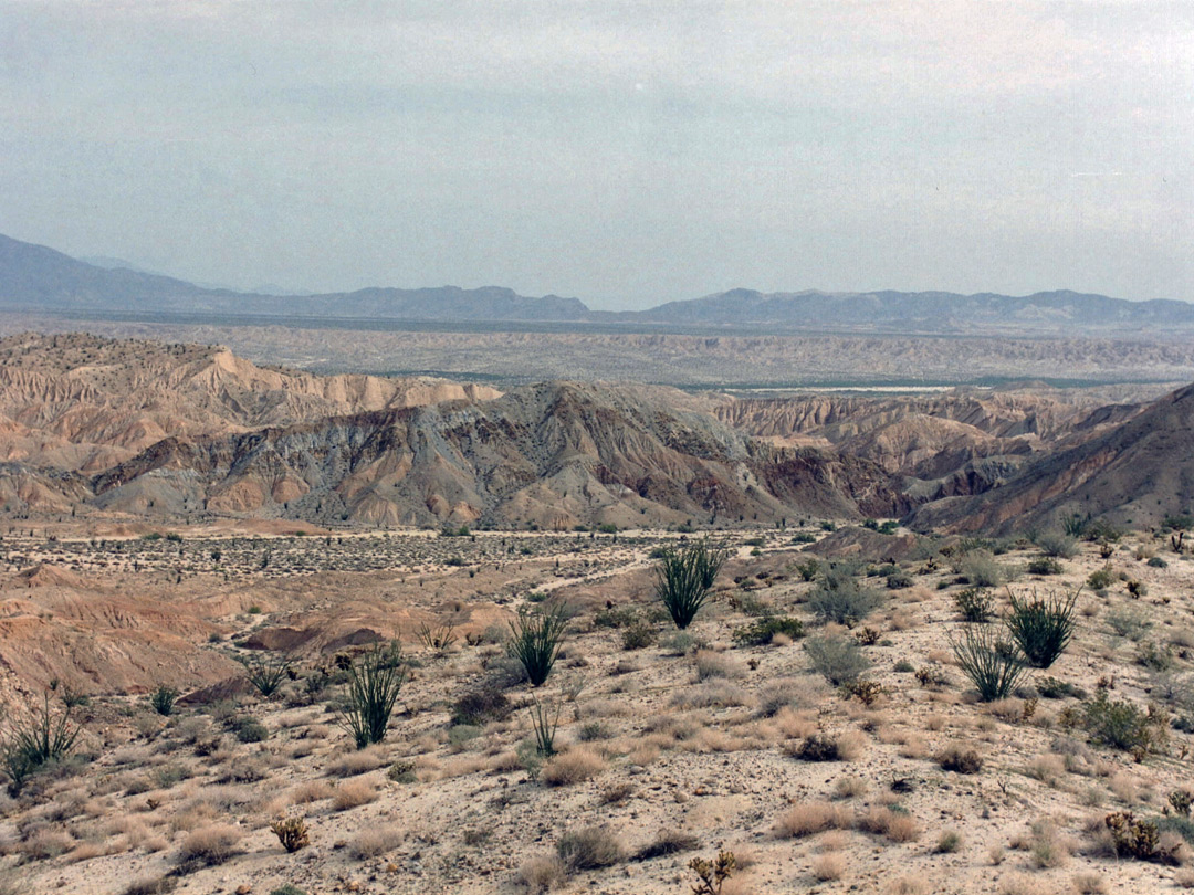 The Carrizo Badlands, from S2